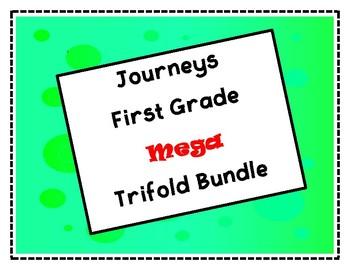 Journeys First Grade Mega Trifold Bundle