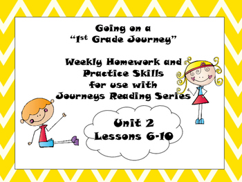 Journeys First Grade Practaice Skills Unit 2 Lessons 6-10