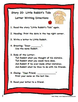 Journeys First Grade Reading 2014 Letter Writing Unit