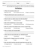 Teacher-Created 1st Grade Reading Test from Journeys, Lesson 14
