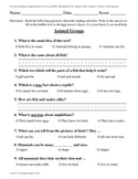 Teacher-Created 1st Grade Reading Test from Journeys, Lesson 15