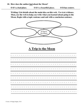 Teacher-Created 1st Grade Reading Test from Journeys, Lesson 16
