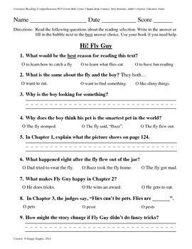 Teacher-Created 1st Grade Reading Test from Journeys, Lesson 29