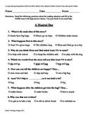 Teacher-Created 1st Grade Reading Test from Journeys, Lesson 8
