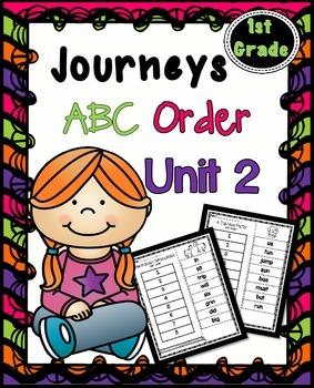 Journeys First Grade Spelling | Unit 2