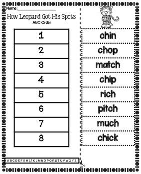 Journeys First Grade Spelling | Unit 3