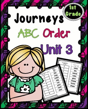 First Grade Reading Unit 3 ~ ABC Order Cut and Paste