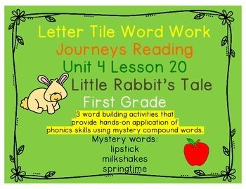 Journeys First Grade Reading Unit 4 Lesson 20 Little Rabbi