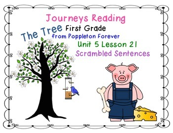 The Tree from Poppleton Forever Journeys First Grade Reading Unit 5 Lesson 21