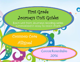 Journeys First Grade Reading Unit Summary Charts