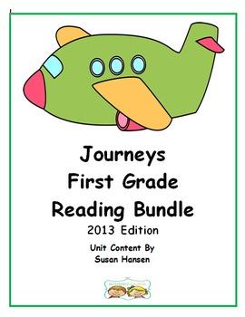 Journeys First Grade Reading Units 2013 Bundle