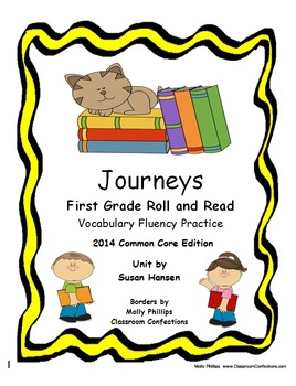 Journeys First Grade Roll and Read Fluency 2014 Edition