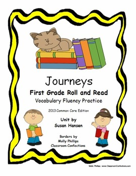 Journeys First Grade Fluency and Vocabulary Practice 2013 Edition
