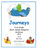 Journeys First Grade Short Answer Response Activities 2013 Edition