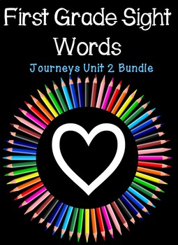 Journeys First Grade Sight Word Activity Pack Unit 2 By Alis Answers
