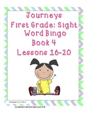 Journeys First Grade Sight Word / Words To Know Bingo..Boo