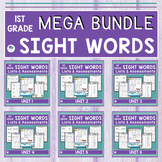 First Grade Sight Words BUNDLE