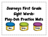 Journeys First Grade Sight Words Play-Doh Practice Mats