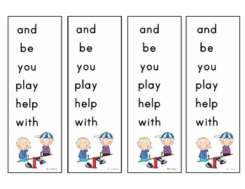 Journeys First Grade Sight Words:  Unit 1 Lesson 1
