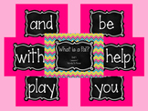 Journey's First Grade Unit 1: Sight Word PowerPoint Slideshows