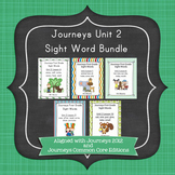 Journeys First Grade Sight Words Unit 2 Bundle