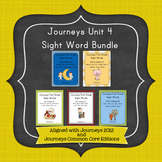 Journeys First Grade Sight Words Unit 4 Bundle