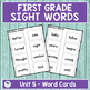 Journeys First Grade Sight Words Unit 5 Lists and Assessments