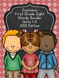 Journeys First Grade Sight Words Units 1-6 Bundle 2012 Edition