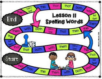 Journeys- First Grade Sight and Spelling Word Partner Games- Unit 3