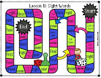 Journeys- First Grade Sight and Spelling Word Partner Games- Unit 4