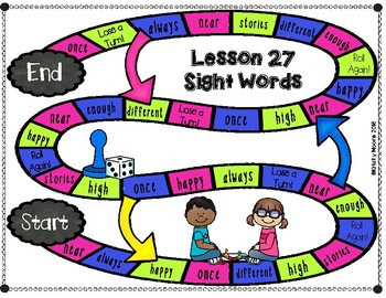 Journeys- First Grade Sight and Spelling Word Partner Games- Unit 6