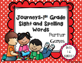 Journeys- First Grade Sight and Spelling Word Partner Game