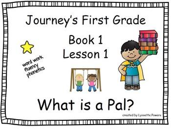 Journeys First Grade Slides Bundle Book 1