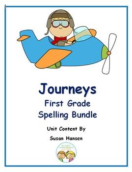 Journeys First Grade Spelling Bundle