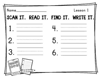 Journeys First Grade Spelling Words QR Codes Unit 1
