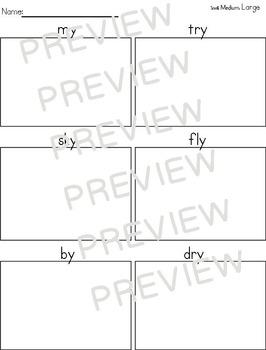 Journeys (2011-2014) First Grade Supplemental Word Work Unit 6