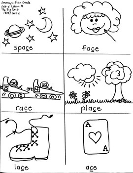 Journeys First Grade: The Big Race: Unit 3/Lesson 14 soft