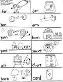 Journeys First Grade: The Tree / Unit 5-Lesson 21 / Spelling- /ar/ words