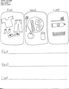 Journeys First Grade: Tomas Rivera/Unit 4-Lesson 19/ORDER