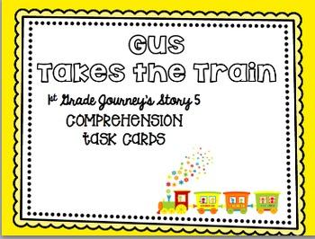 Journey's First Grade Unit 1 (5 Stories) Bundle Comprehension Task Cards