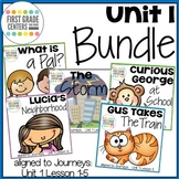 Journeys First Grade Unit 1 Bundle