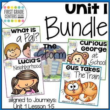 Journeys First Grade Unit 1 Bundle