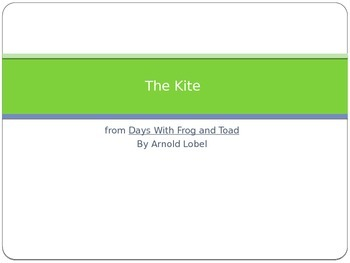 Journey's - First Grade - Lesson 28- The Kite-Sp. & Voc. Powerpoint