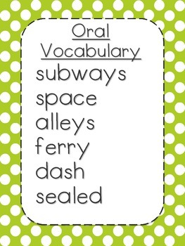 Journeys First Grade Unit 1 Lesson 5 Printables