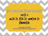 Journeys First Grade Unit 1 Mix It Fix It High Frequency Words