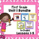 Journeys First Grade Unit 1 Supplemental Units Bundle