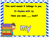 Journeys First Grade Unit 1 Words to Know PowerPoints