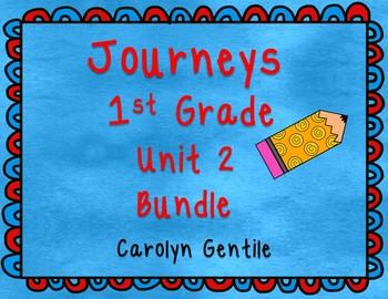 Journeys First Grade Unit 2 Bundle 2012, 2014, 2017
