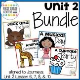 Journeys First Grade Unit 2 Bundle
