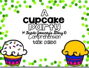 Journey's First Grade Unit 2 Bundle {Comprehension Task Cards}